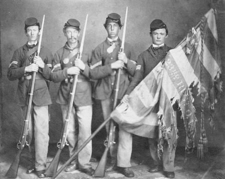 Солдаты американской Гражданской войны. Изображение № 3.