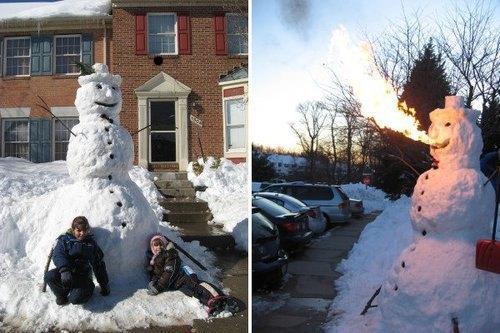 Что ты лепишь: Альтернативные снеговики со всего мира. Изображение №1.