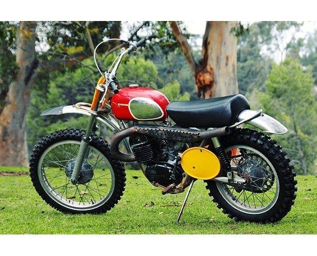 Мотоцикл Стива МакКуина выставили на аукцион. Изображение №4.