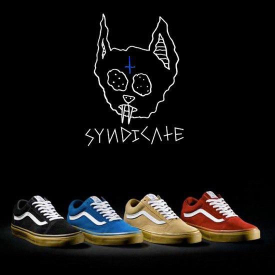 Марка Vans и хип-хоп-группировка Odd Future выпустили совместную коллекцию обуви. Изображение № 1.