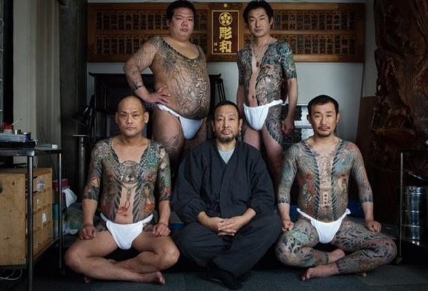 Вышла книга о традиционных японских татуировках. Изображение № 2.