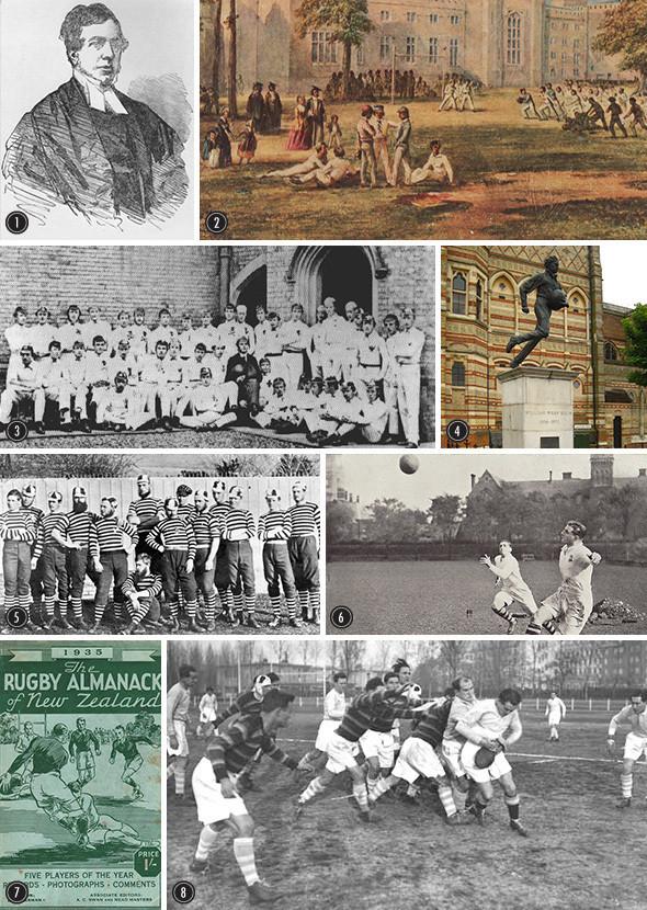 15 разгневанных мужчин: История, правила и команды регби. Изображение № 1.