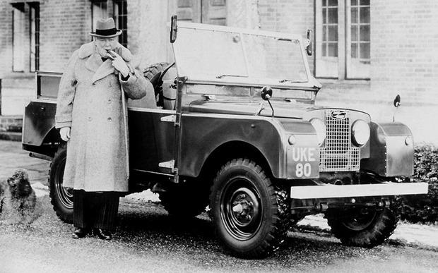 Land Rover Уинстона Черчилля продан на аукционе за 200 тысяч долларов . Изображение № 1.