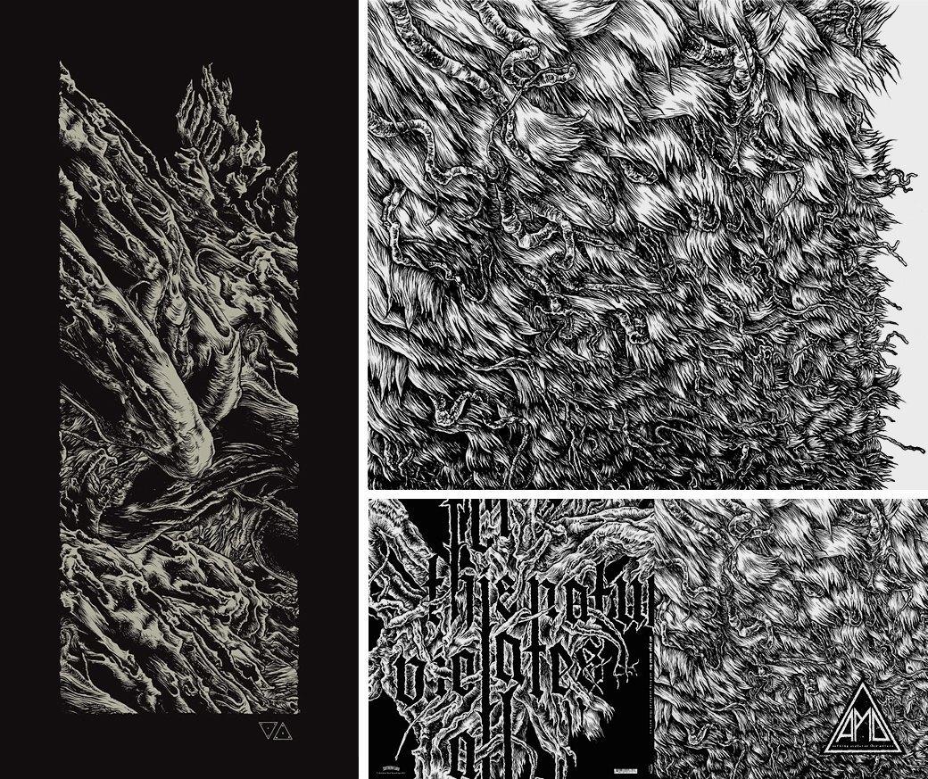 Кто оформляет обложки современного метала. Изображение № 12.