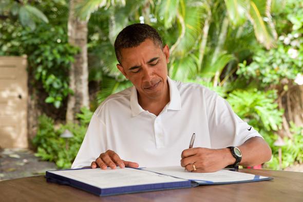 Наглядный пример: Барак Обама. Изображение № 37.