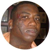 На лбу написано: Путеводитель по татуировкам на лице. Изображение №8.