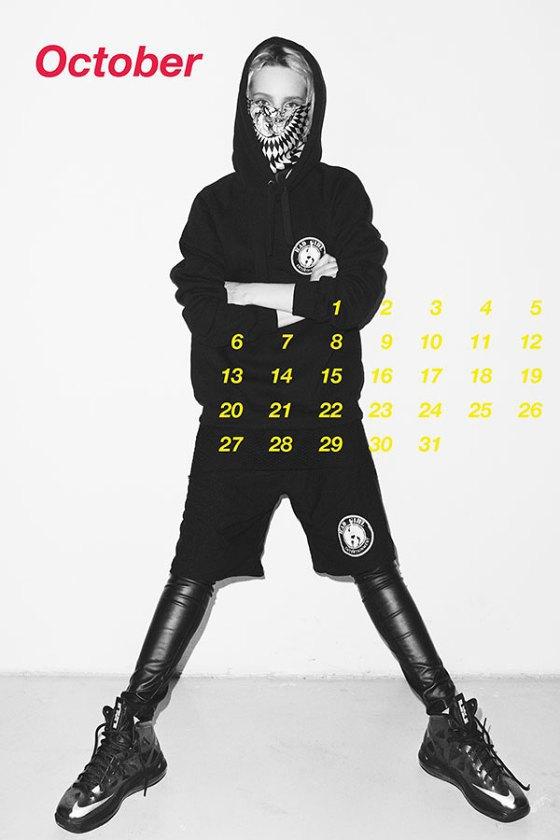Польская модель Шарлотта Томас снялась для календаря MISBHV. Изображение № 11.