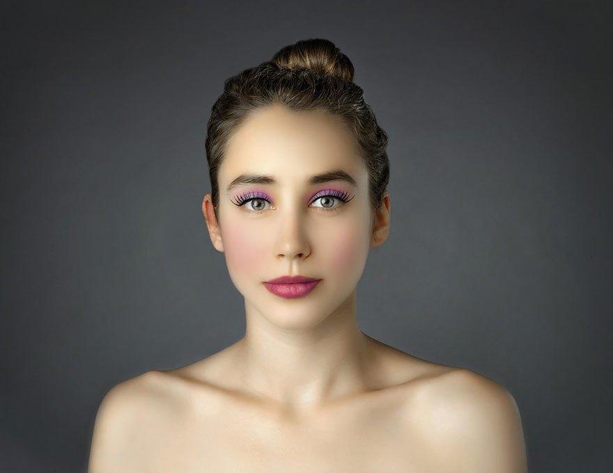 Как отличаются стандарты женской красоты в разных странах . Изображение № 9.