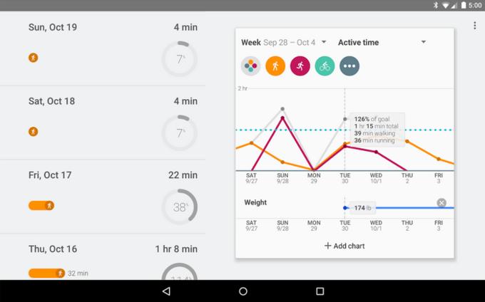 Google выпустил собственное фитнес-приложение. Изображение № 3.