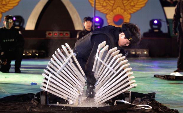 Южнокорейские солдаты борются с терроризмом приемами из арсенала Человека-паука. Изображение № 5.