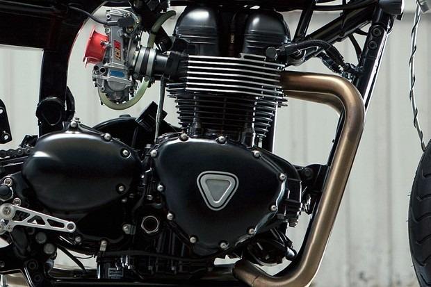 Испанская мастерская Kiddo Motors представила кастом модели Triumph Thruxton. Изображение № 3.