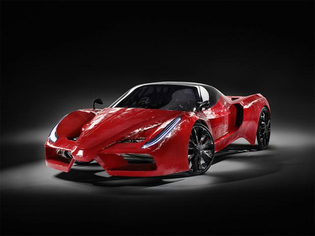 В Австрии сделали самый медленный в мире Ferrari. Изображение №6.