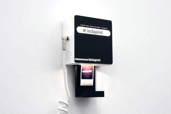 Студия Breakfast разработала мини-принтер для приложения Instagram. Изображение № 1.
