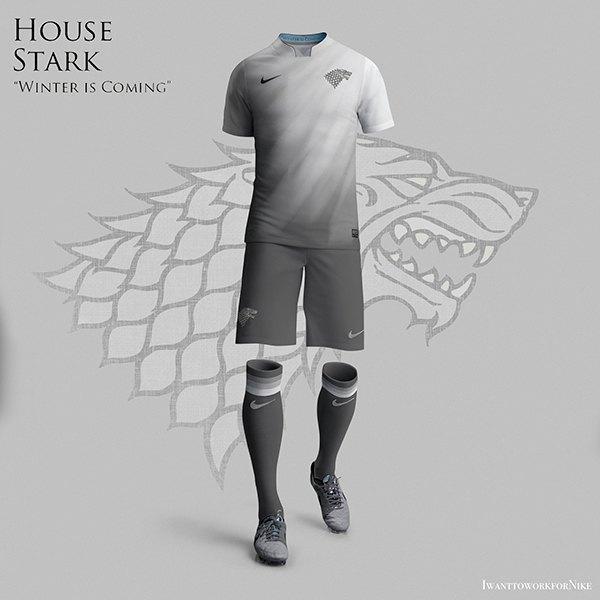 Испанский дизайнер создал футбольную форму для «Игры престолов» . Изображение № 11.