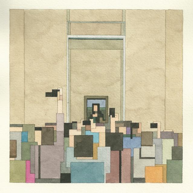 Адам Листер: Иконы поп-культуры в 8-битной живописи. Изображение № 14.