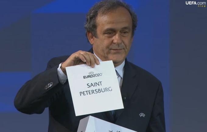 Санкт-Петербург примет четвертьфинал Евро-2020. Изображение № 1.