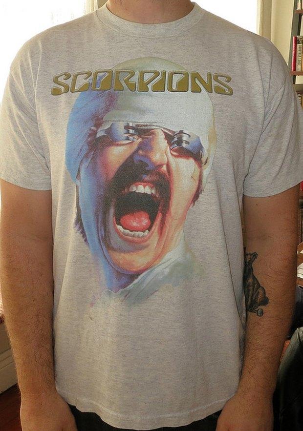 Minor Thread: Тысячедневный марафон футболок с логотипами музыкантов. Изображение № 15.