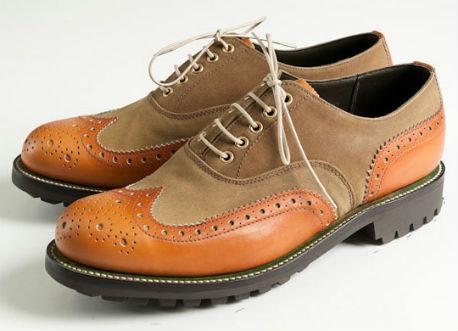 Совместная коллекция обуви марок Grenson и Barbour. Изображение № 6.