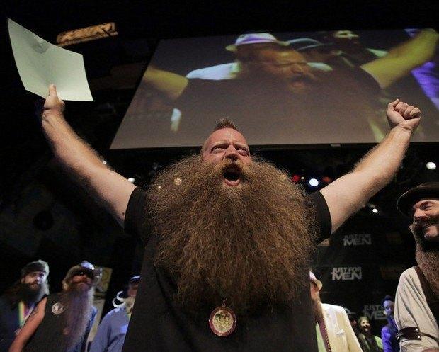В США выбрали лучшего бородача. Изображение № 1.