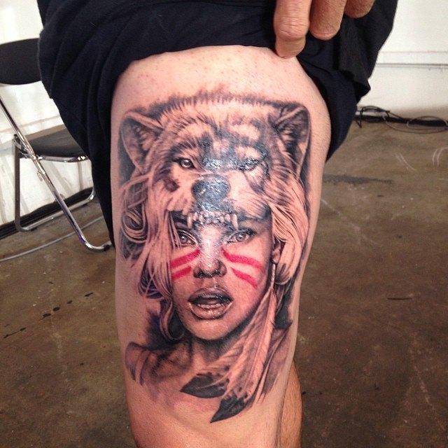 Австралийская выставка Tattoo and Body Art Expo в Instagram-фотографиях её участников. Изображение № 22.