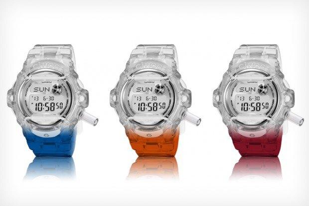 G-Shock выпустили часы с алкотестером. Изображение № 2.