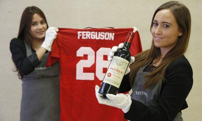 Винотеку Алекса Фергюсона выставят на аукцион. Изображение № 1.
