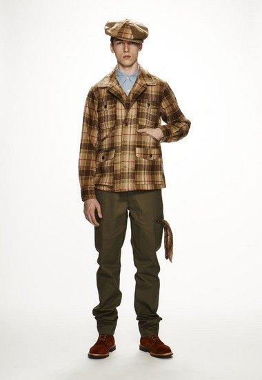 Марка Woolrich Woolen Mills опубликовала лукбук осенней коллекции одежды. Изображение № 6.