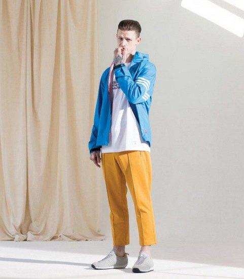 Марки Bedwin & The Heartbreakers и Adidas Originals выпустили совместную коллекцию одежды. Изображение № 5.