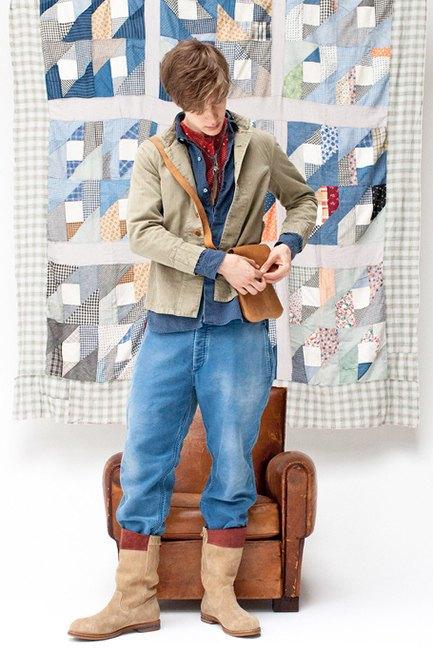 Японская марка Visvim опубликовала лукбук новой коллекции. Изображение № 24.