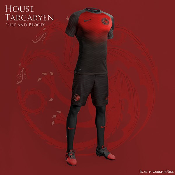Испанский дизайнер создал футбольную форму для «Игры престолов» . Изображение № 12.