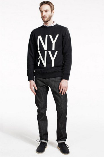 Марка Saturdays Surf NYC выпустила лукбук осенней коллекции одежды. Изображение № 9.