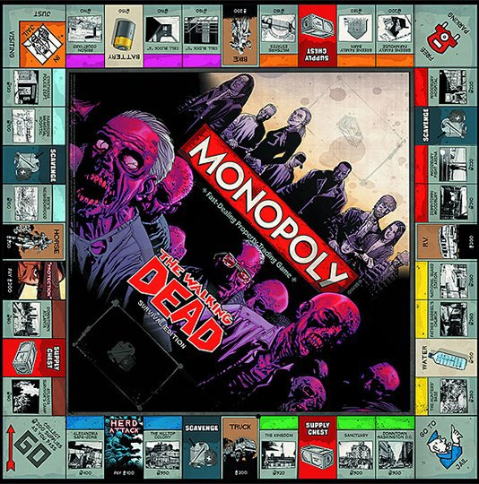 Вышла новая зомби-версия настольной игры «Монополия». Изображение № 3.