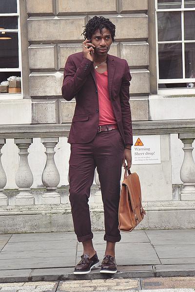 Уличный стиль на неделе моды в Лондоне. Изображение № 17.