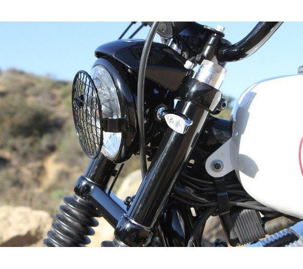 Мастерская Burly Brand представила скрэмблер на основе Harley-Davidson Sportster. Изображение № 11.