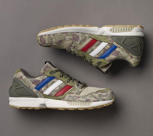 Марки A Bathing Ape, Undefeated и Adidas Originals представили совместную коллекцию кроссовок. Изображение № 9.