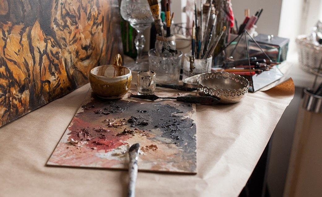 Дом культуры: Молодые московские художники и их мастерские. Изображение № 38.