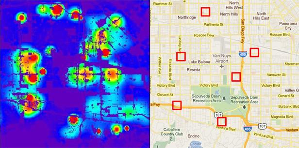 Полиция Лос-Анджелеса начала использовать программу, предсказывающую преступления. Изображение № 1.