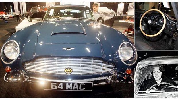 Aston Martin DB5 Пола Маккартни продали на аукционе за полмиллиона долларов . Изображение № 9.