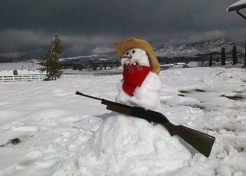 Что ты лепишь: Альтернативные снеговики со всего мира. Изображение №23.