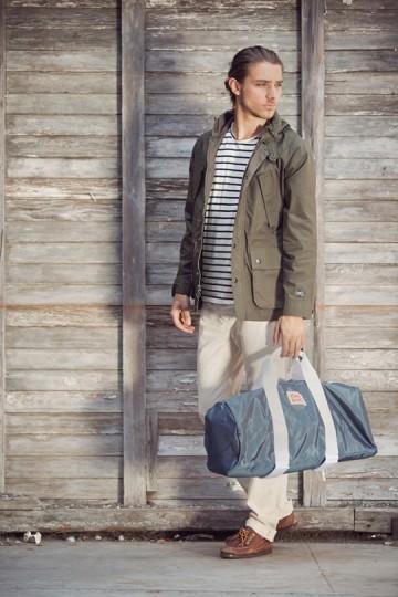 Марка Obey выпустила лукбук весенней коллекции одежды. Изображение № 28.