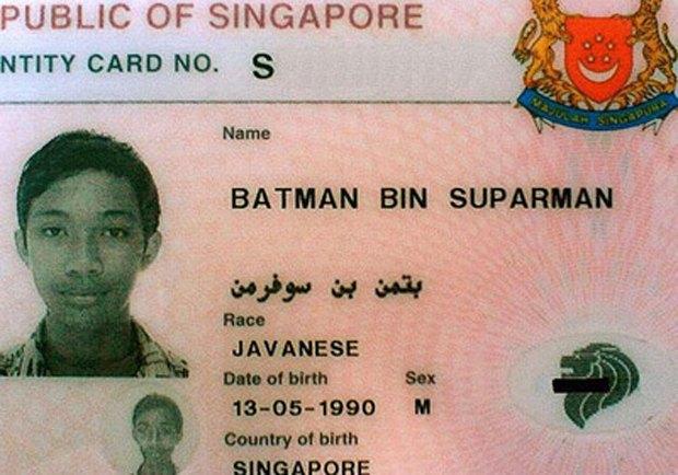 В Сингапуре арестовали Бэтмена, сына Супермена, торговавшего наркотиками. Изображение № 1.