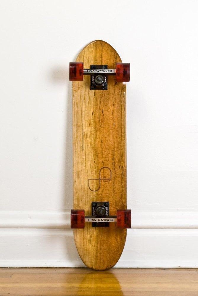 Дизайнер Джейк Эшелман выпустил коллекцию скейтбордов ручной работы. Изображение № 8.