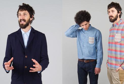 Шотландская марка Folk выпустила осеннюю коллекцию одежды. Изображение № 1.