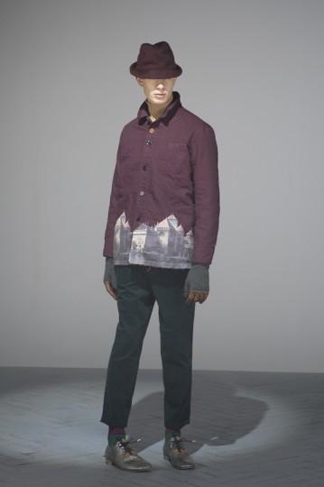 Японская марка Undercover выпустила лукбук осенней коллекции одежды. Изображение № 15.