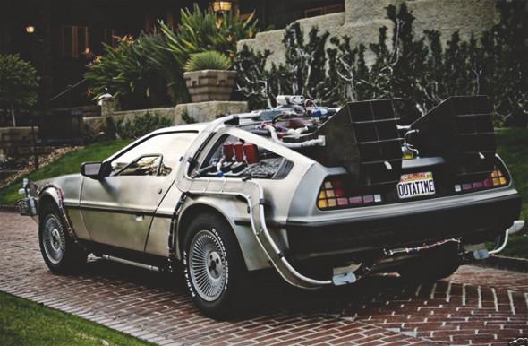 Автомобиль из фильма «Назад в будущее» продали на аукционе. Изображение № 1.