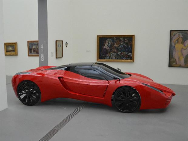 В Австрии сделали самый медленный в мире Ferrari. Изображение №4.