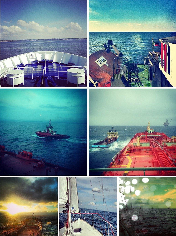 Что публикуют в своих Instagram моряки разных стран. Изображение № 3.