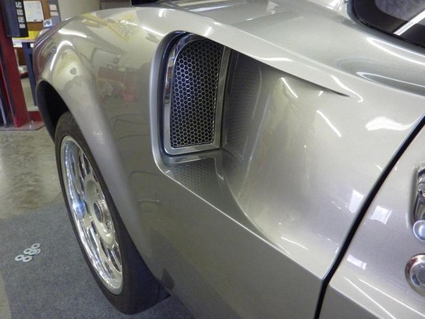 Американская мастерская изготовила гибрид маслкара Ford Mustang Mach 1 и спорткара GT40. Изображение № 13.