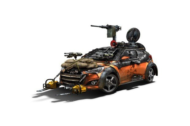 Hyundai создали машину для спасения от зомби. Изображение № 1.
