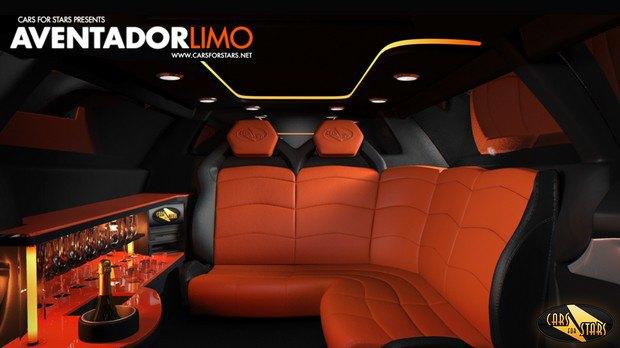 Британская компания построит лимузин на базе суперкара Lamborghini Aventador. Изображение № 5.